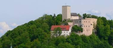 Ferienwohnung im Bayerischen Wald - Falkenstein Burg
