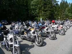 Motorradreisen im Bayerischen Wald Motorrad fahren in Bayern