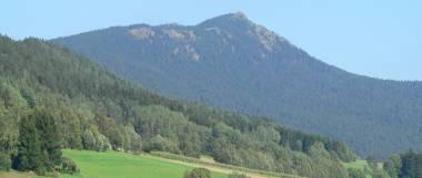 Sehenswertes im Bayerischen Wald - Berge Osser bei Lam